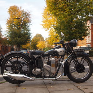 1931 Very Rare 500cc 4F Ariel Square Four, WoW.