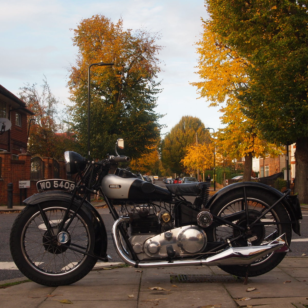 1931 Very Rare 500cc 4F Ariel Square Four, WoW. For Sale (picture 2 of 6)
