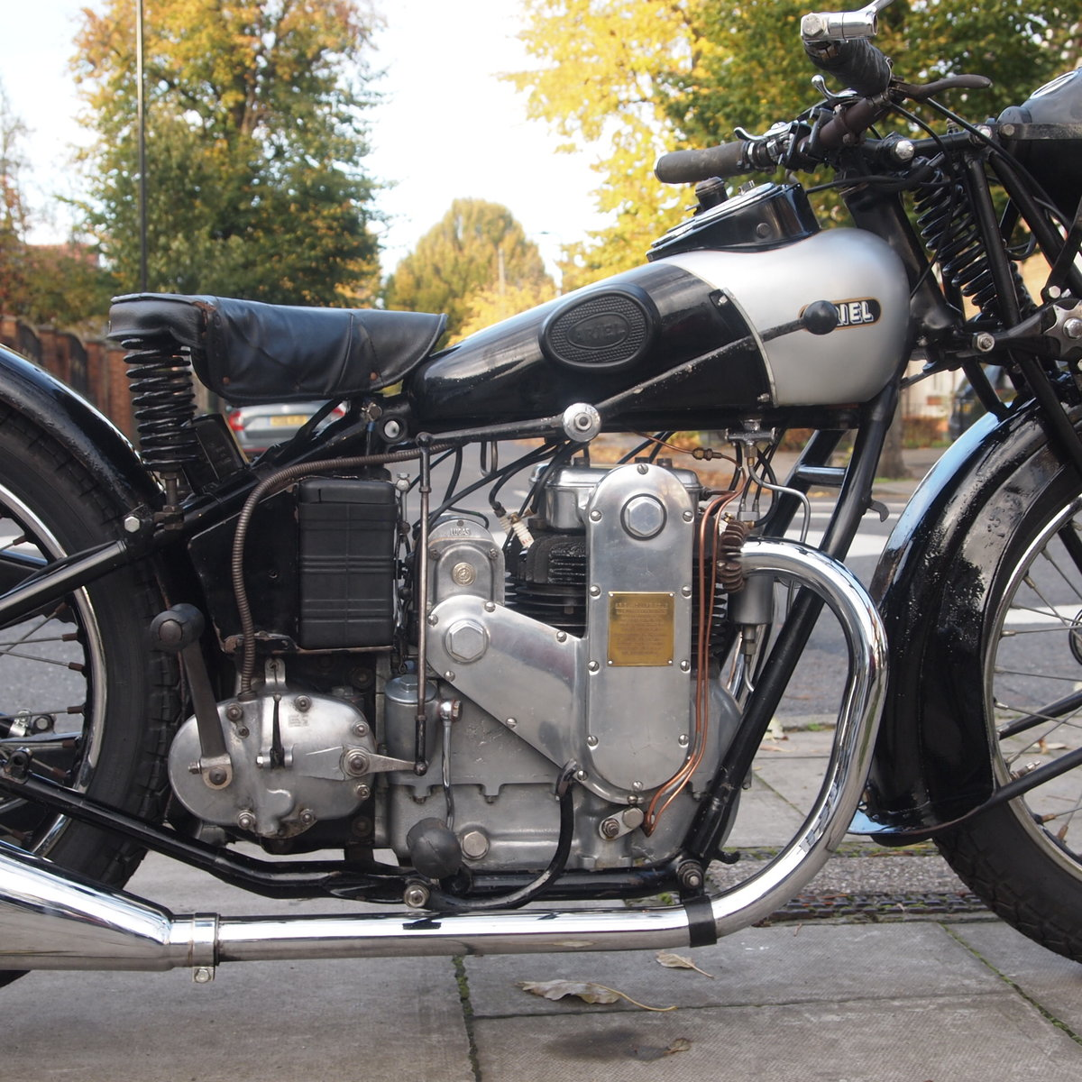 1931 Very Rare 500cc 4F Ariel Square Four, WoW. For Sale (picture 3 of 6)