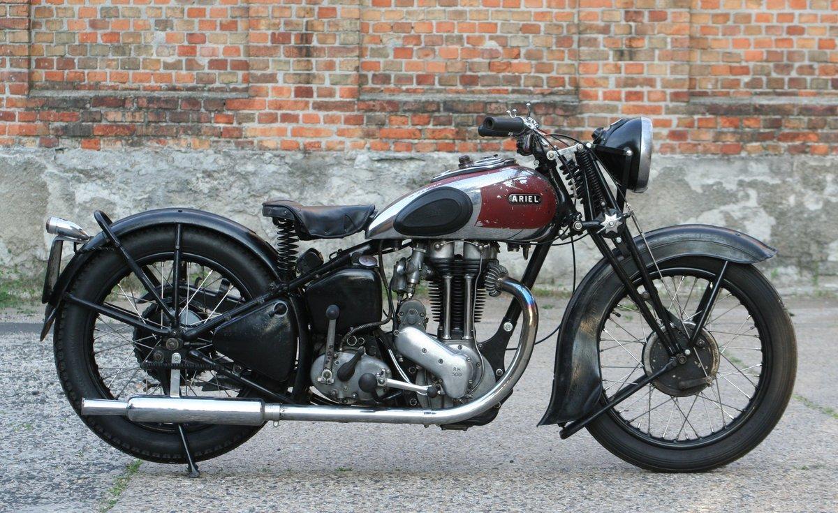 Ariel VG De Luxe 500cc OHV 1939 For Sale (picture 1 of 6)