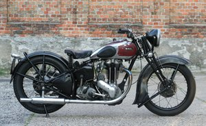 Ariel VG De Luxe 500cc OHV 1939 For Sale