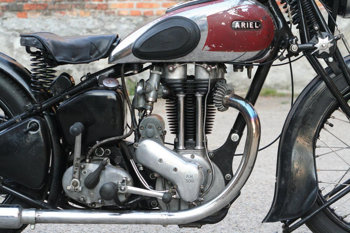 Ariel VG De Luxe 500cc OHV 1939 For Sale (picture 2 of 6)