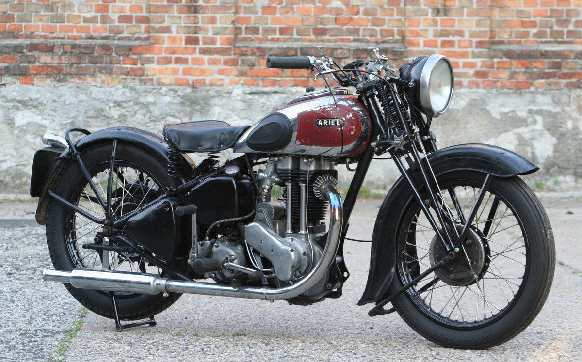 Ariel VG De Luxe 500cc OHV 1939 For Sale (picture 3 of 6)