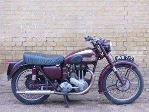 1954 Ariel NH 350cc For Sale