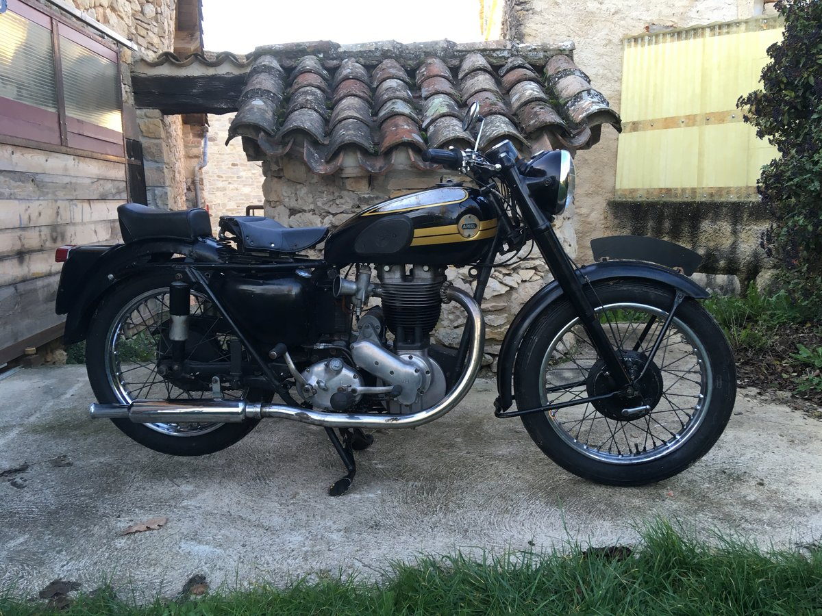 1956 Ariel 500 vh very good original condition For Sale (picture 2 of 6)