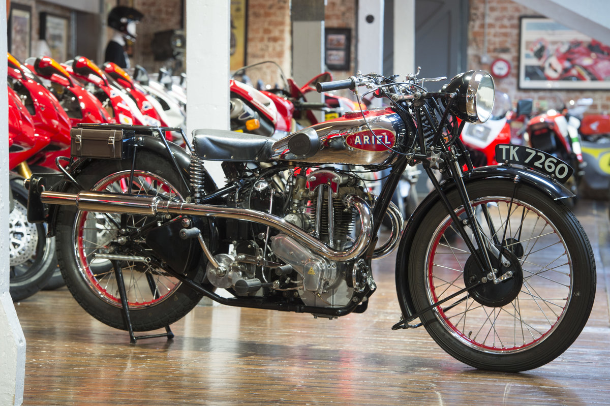 1932 Ariel VH500 Red Hunter Unbelievable Example For Sale (picture 1 of 6)