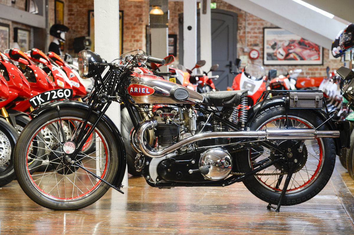 1932 Ariel VH500 Red Hunter Unbelievable Example For Sale (picture 6 of 6)