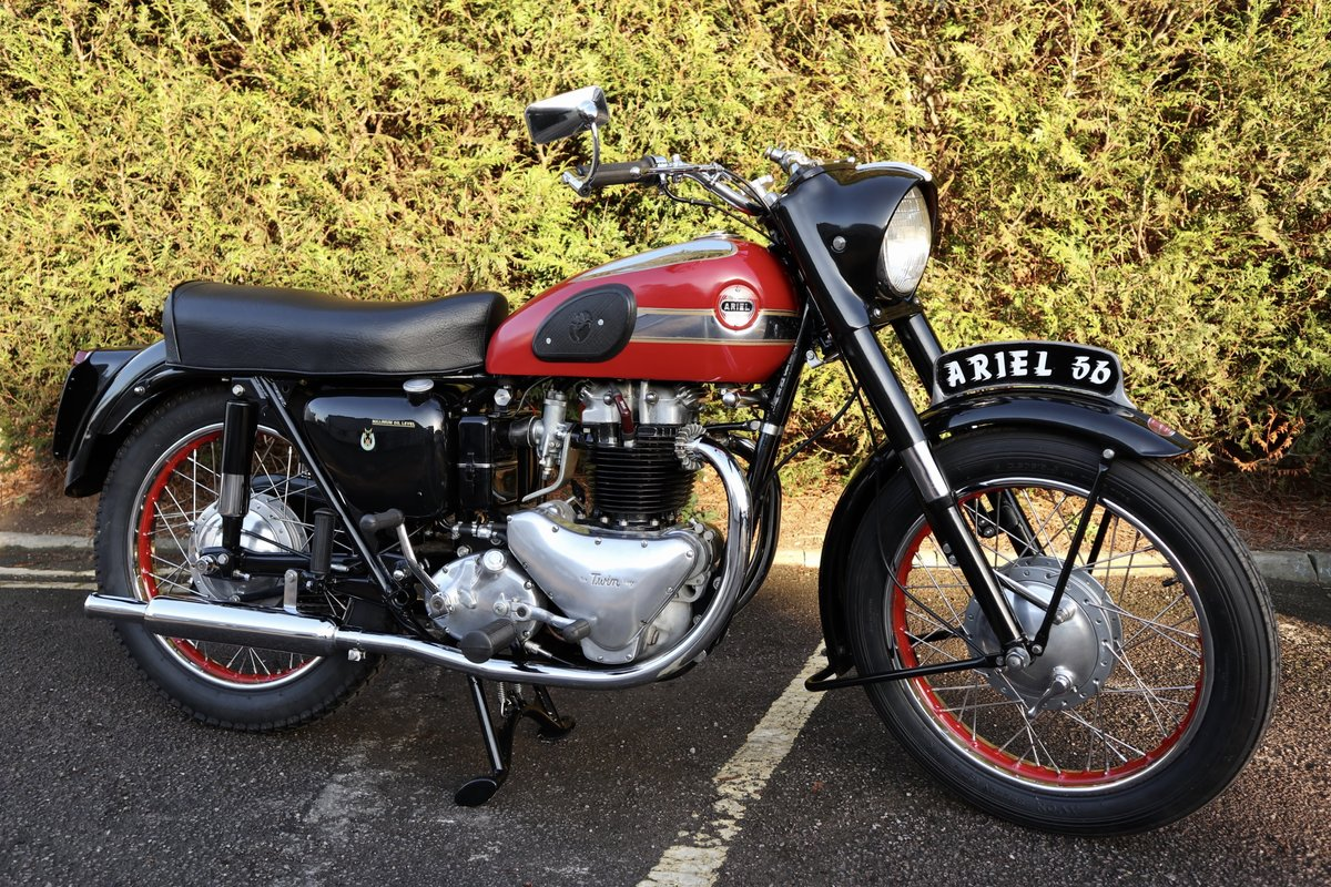 1956 Ariel Huntmaster 650cc Twin Fully Restored !!! For Sale (picture 1 of 6)