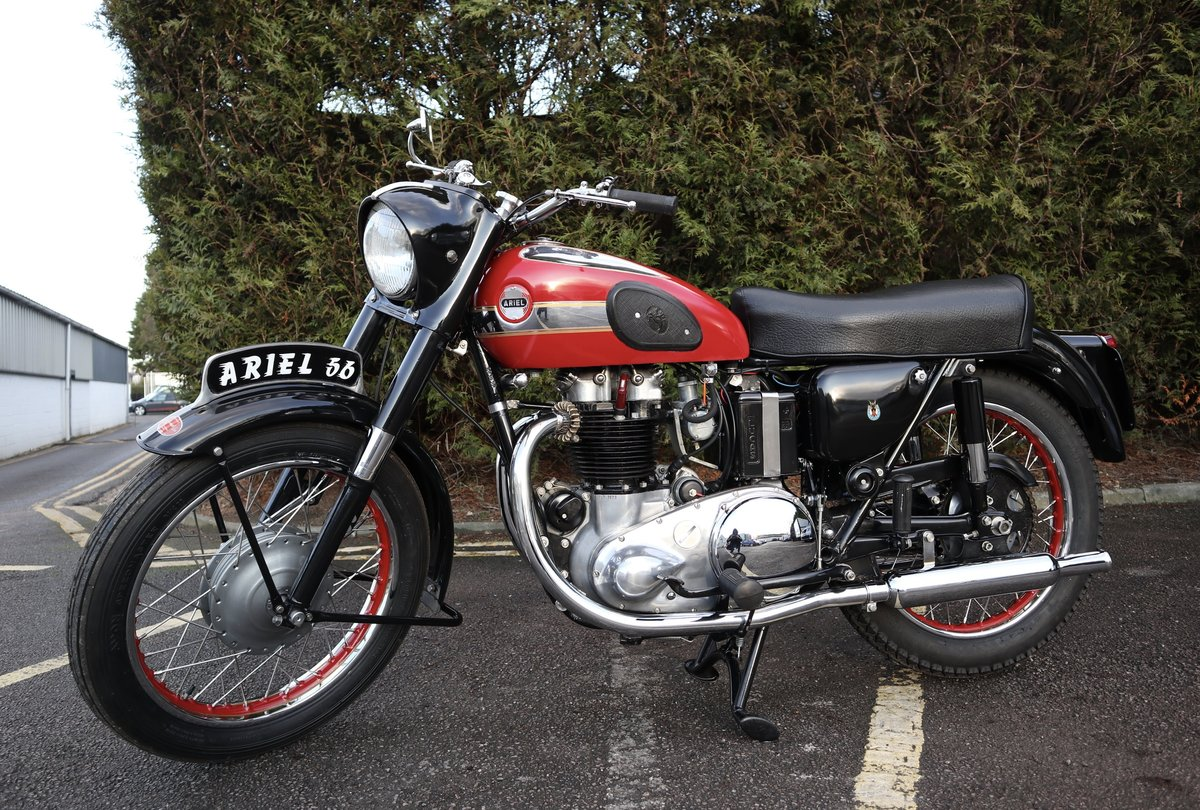 1956 Ariel Huntmaster 650cc Twin Fully Restored !!! For Sale (picture 2 of 6)