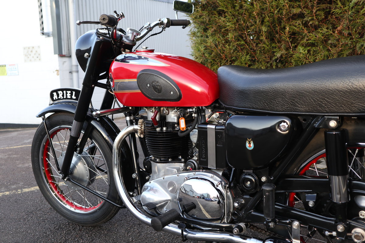 1956 Ariel Huntmaster 650cc Twin Fully Restored !!! For Sale (picture 4 of 6)
