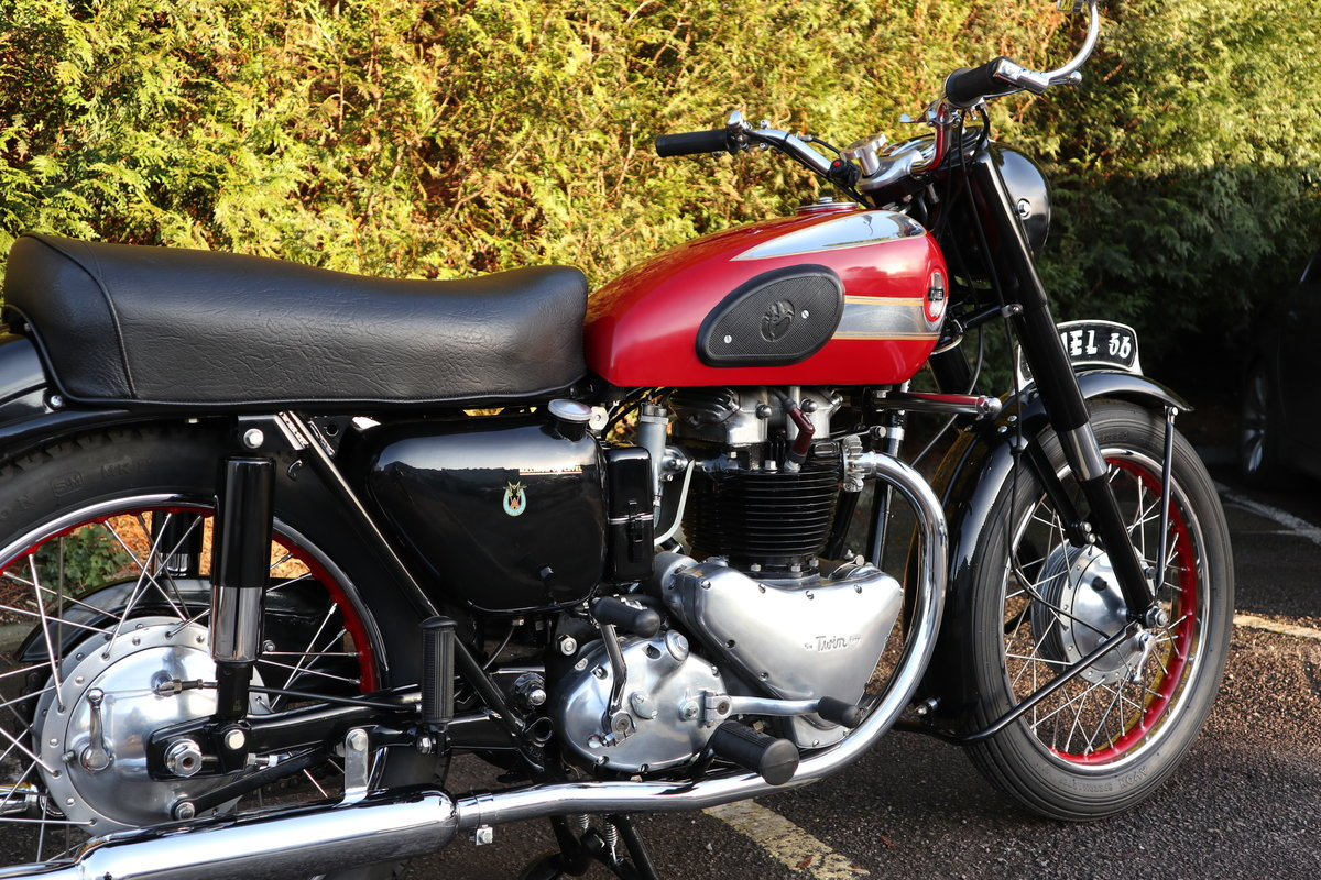 1956 Ariel Huntmaster 650cc Twin Fully Restored !!! For Sale (picture 5 of 6)