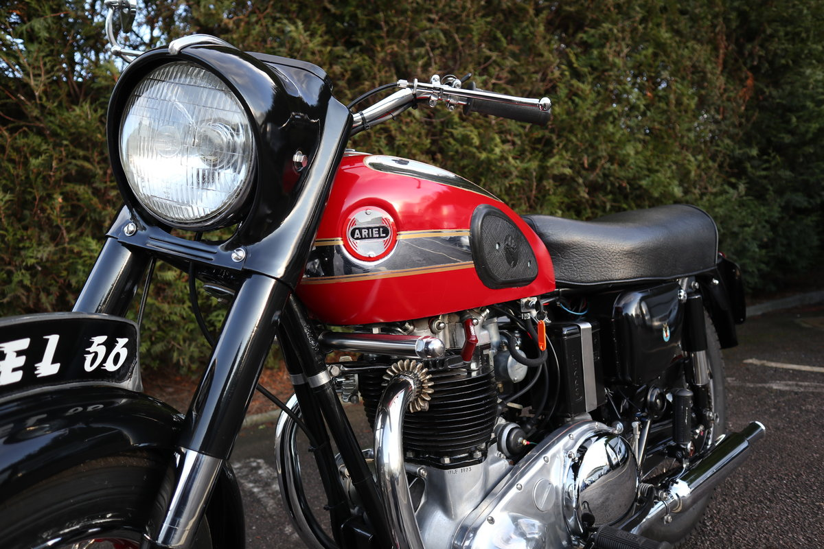 1956 Ariel Huntmaster 650cc Twin Fully Restored !!! For Sale (picture 6 of 6)