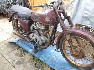 1954 Ariel VB600 (sv single) restoration project.
