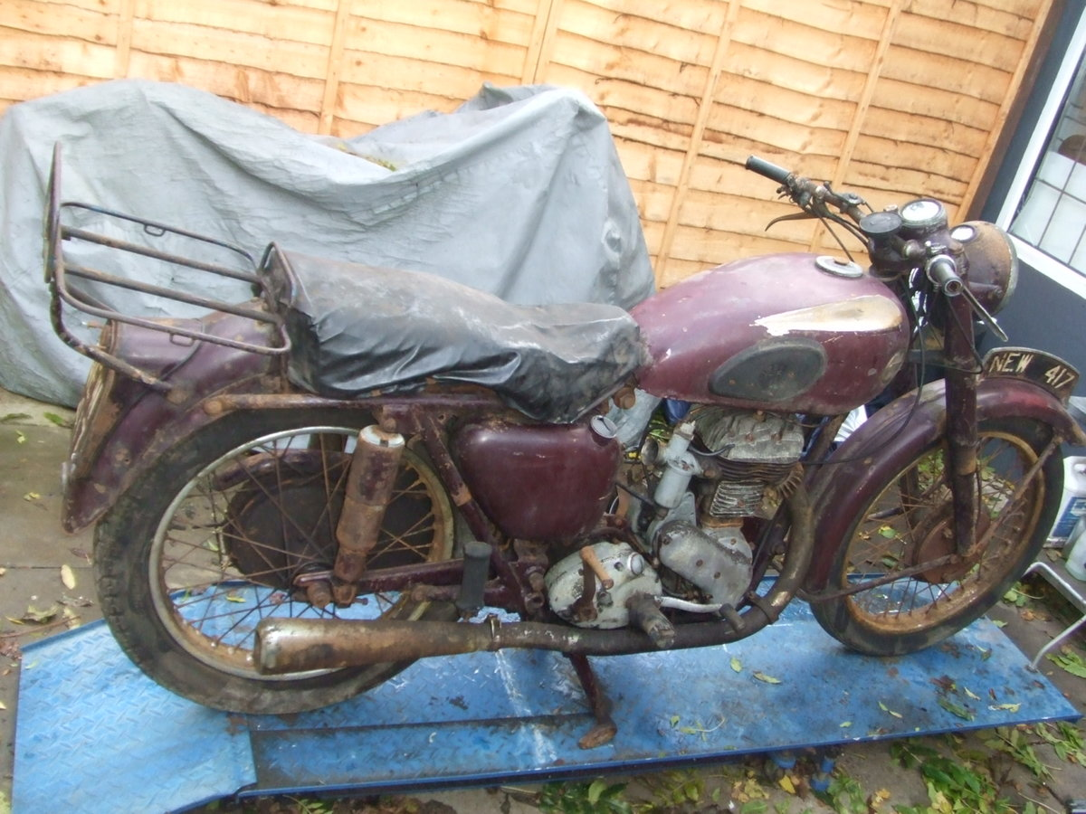 1954 Ariel VB600 (sv single) restoration project. For Sale (picture 2 of 4)