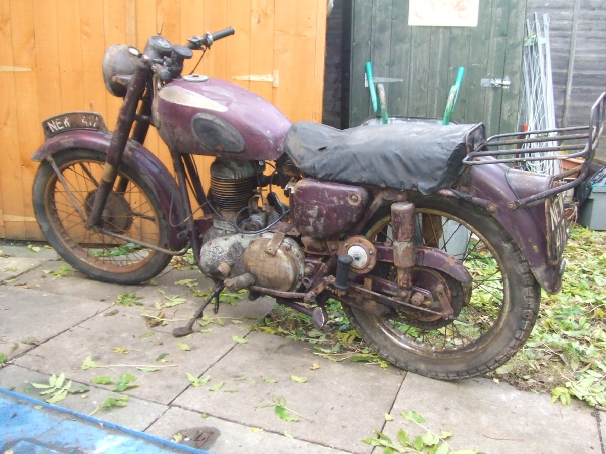 1954 Ariel VB600 (sv single) restoration project. For Sale (picture 4 of 4)