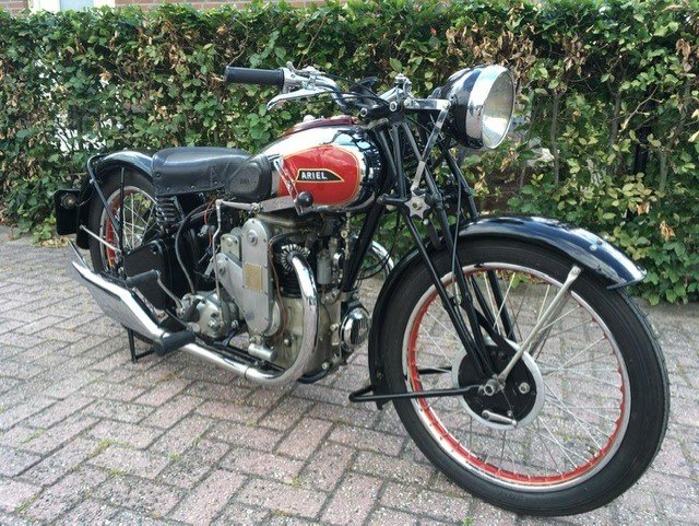 ARIEL SQUARE FOUR 1933 For Sale (picture 1 of 6)