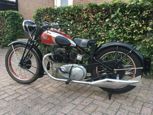 ARIEL SQUARE FOUR 1933 For Sale (picture 6 of 6)