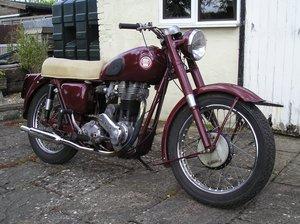 "1955 Ariel VH500 ""Red Hunter"""