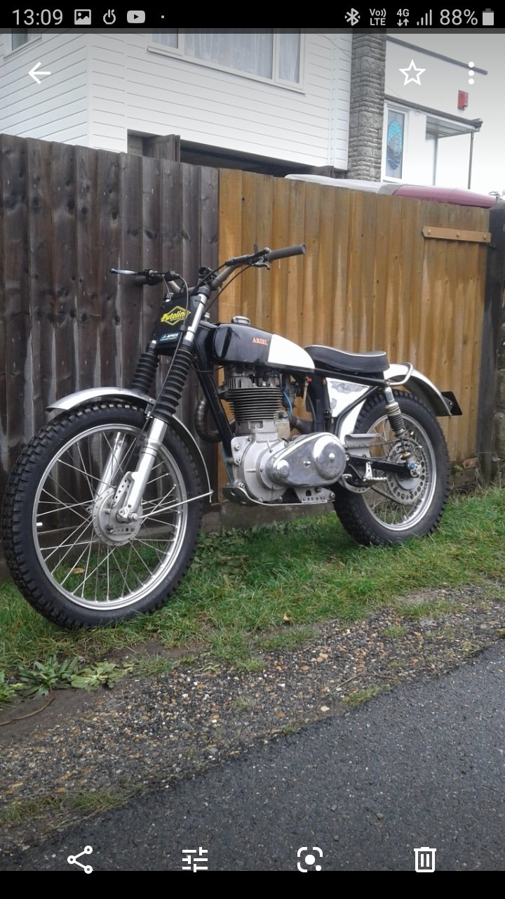 1955 Ariel HT5 Trials. For Sale (picture 3 of 6)