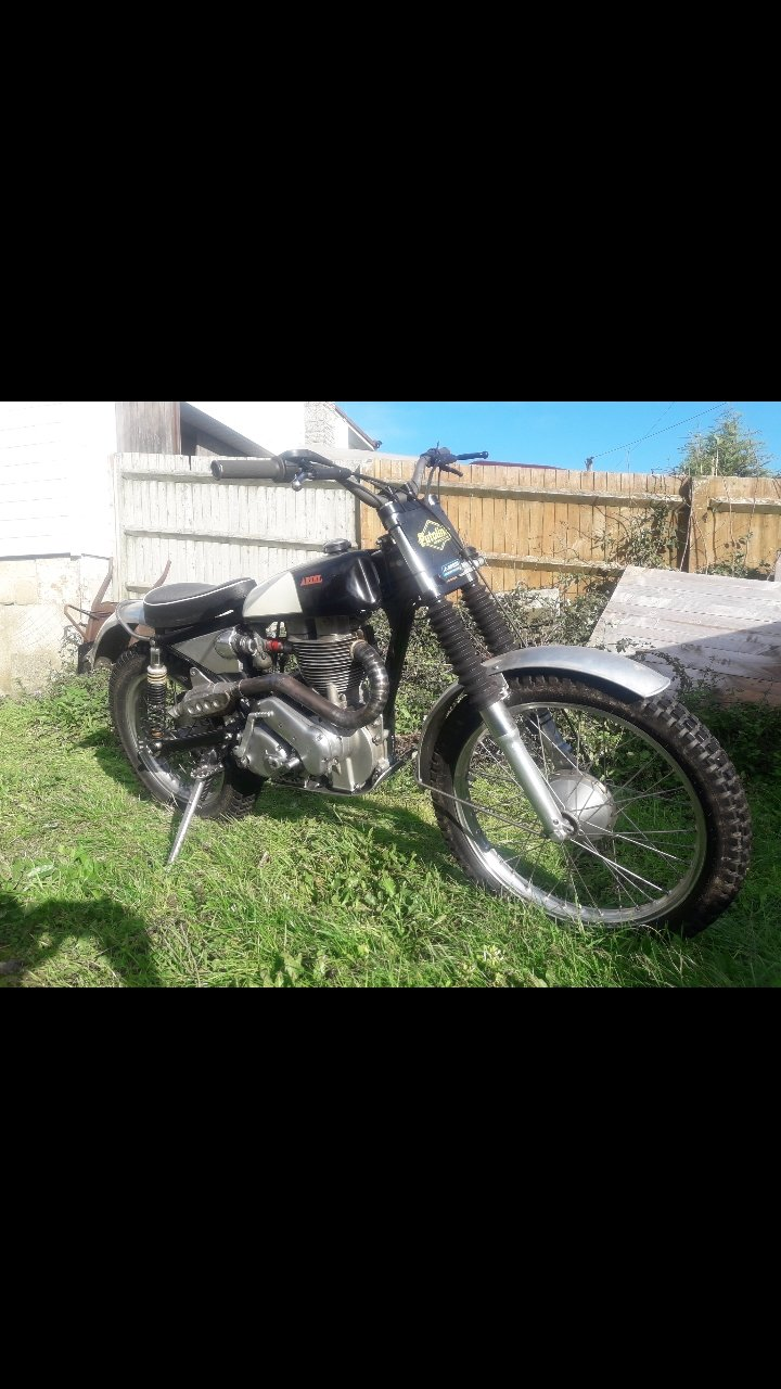 1955 Ariel HT5 Trials. For Sale (picture 5 of 6)