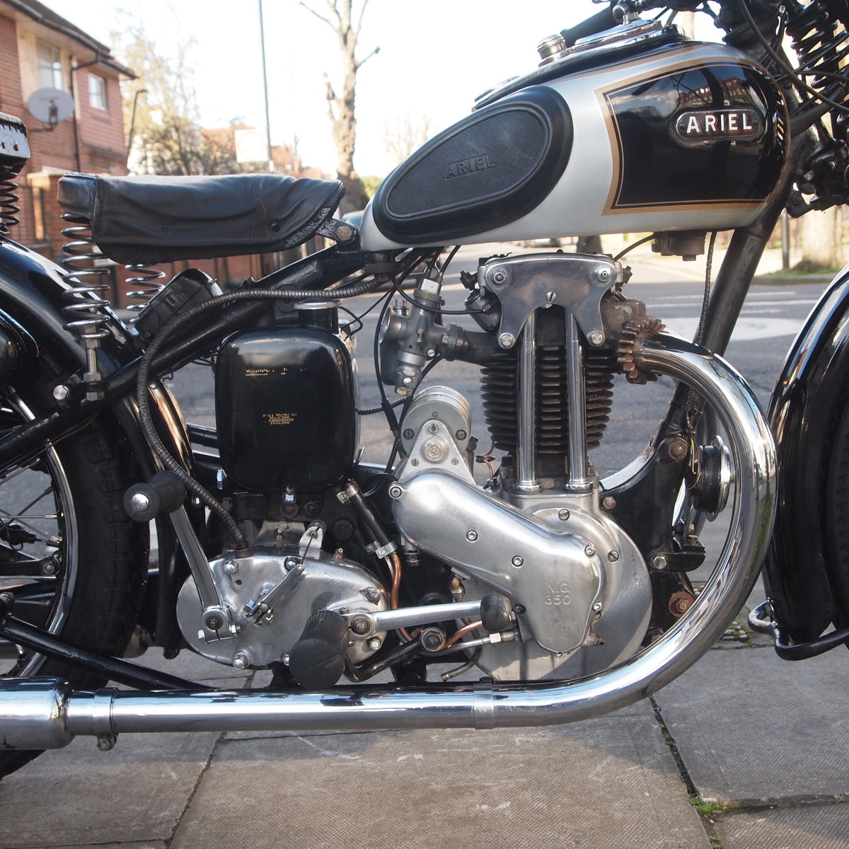 1936 Ariel 350 N.G.36 RESERVED FOR ROY G. SOLD (picture 4 of 6)
