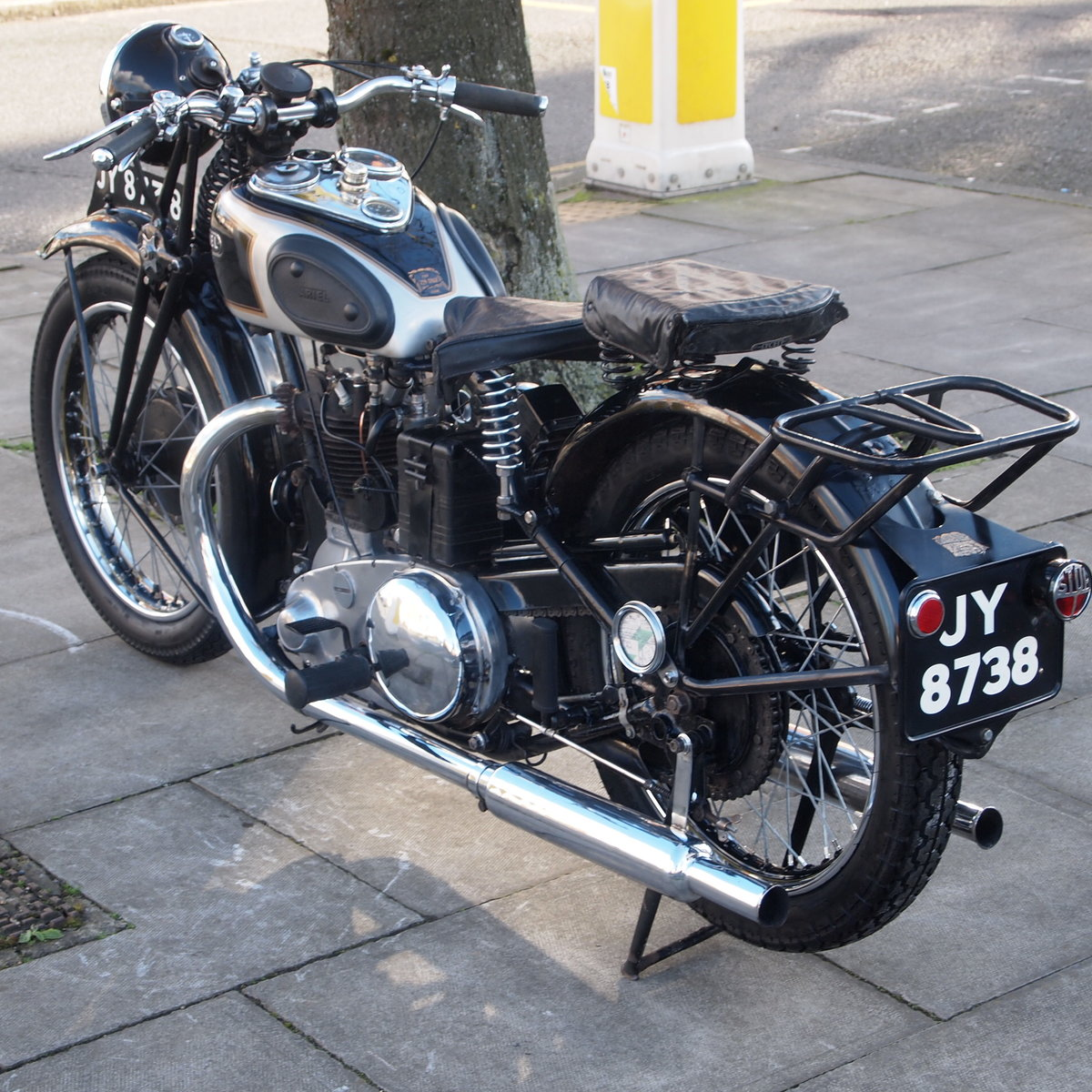 1936 Ariel 350 N.G.36 RESERVED FOR ROY G. SOLD (picture 5 of 6)