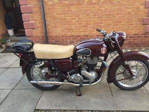 1958 Ariel vh 500 motorcycle