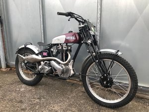 1950 ARIEL RIGID GIRDER FORK TRIALS RUNS MINT! RIDE ON SUNDAY!  For Sale