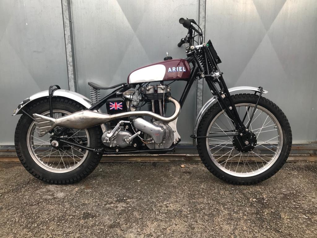 1950 ARIEL RIGID GIRDER FORK TRIALS RUNS MINT! RIDE ON SUNDAY!  For Sale (picture 2 of 6)