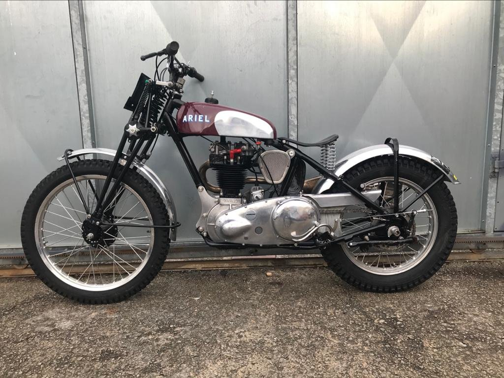 1950 ARIEL RIGID GIRDER FORK TRIALS RUNS MINT! RIDE ON SUNDAY!  For Sale (picture 3 of 6)