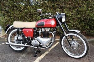 1955 Ariel Cyclone 650cc Pre-Unit Twin. Restored !!