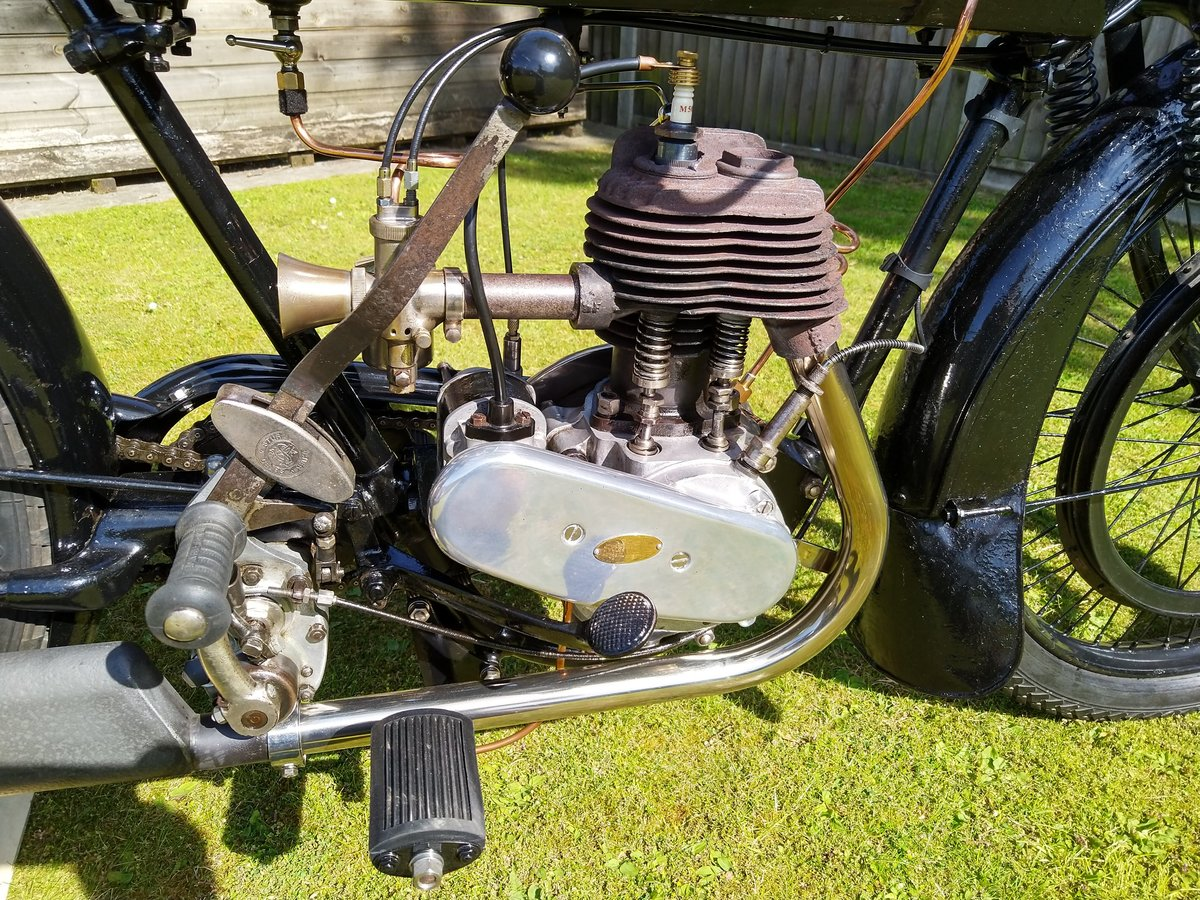 1927 Ariel 2 1/2 HP Lightweight For Sale (picture 2 of 6)