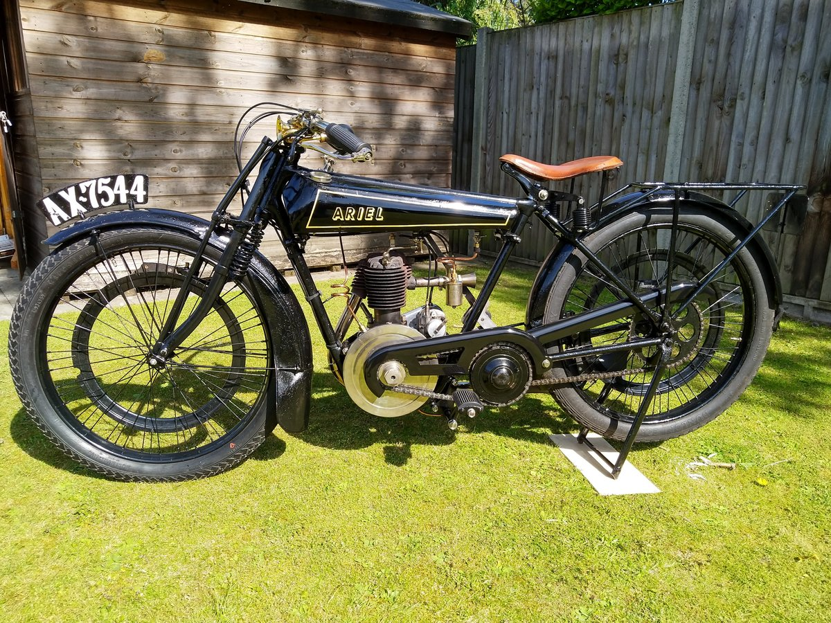 1927 Ariel 2 1/2 HP Lightweight For Sale (picture 4 of 6)