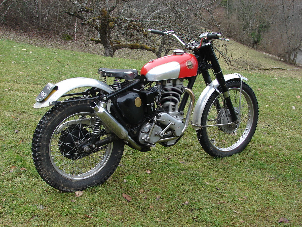 1956 factory H 500 HT 5 original For Sale (picture 1 of 5)