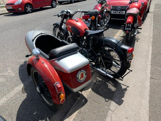 1954 UNIQUE CLASSIC ARIAL WITH SIDECAR For Sale (picture 2 of 6)