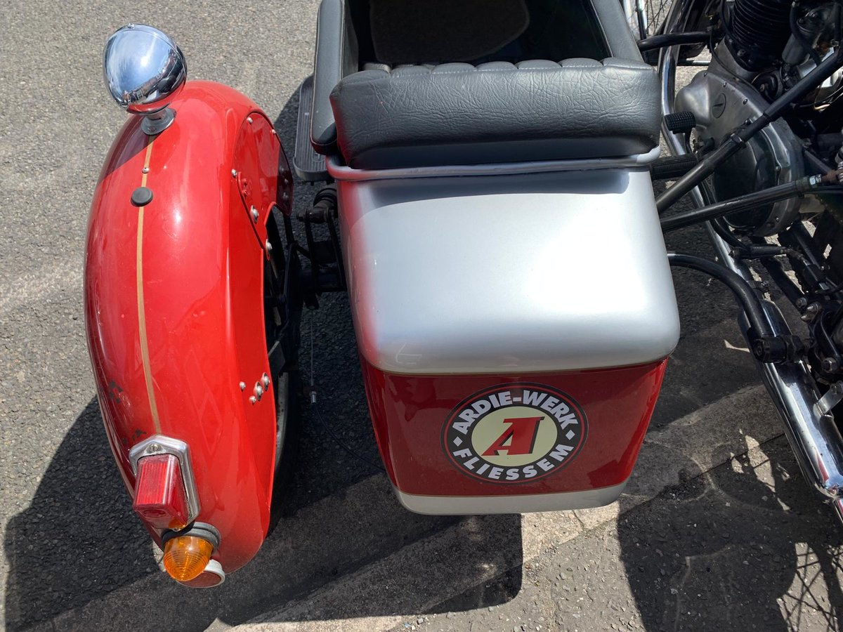 1954 UNIQUE CLASSIC ARIAL WITH SIDECAR For Sale (picture 4 of 6)