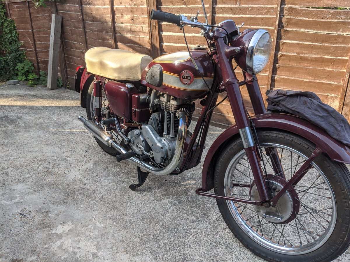 1955 Ariel 350cc For Sale (picture 3 of 6)