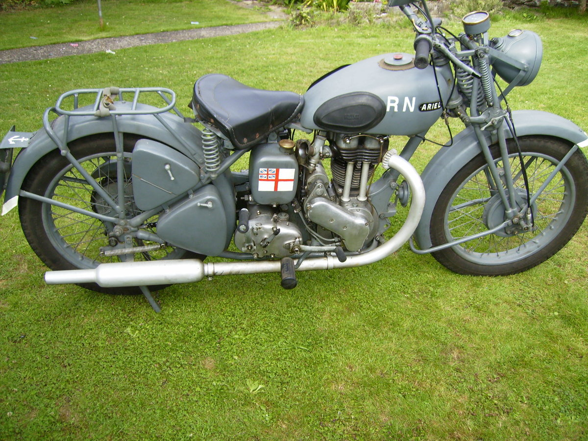 1942 Ariel 350 WNG SOLD (picture 1 of 6)