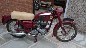 1956 Ariel 350 Red Hunter.