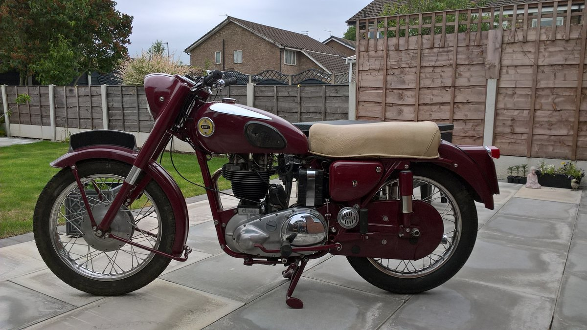 1956 Ariel 350 Red Hunter. For Sale (picture 6 of 6)