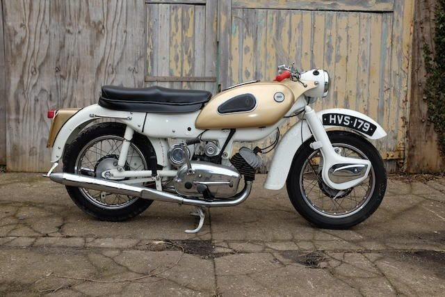 1962 ARIEL 247CC ARROW SUPER SPORTS (LOT 301) SOLD by Auction (picture 1 of 1)