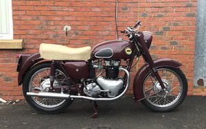 1957 ARIEL 649CC FH HUNTMASTER (LOT 314)