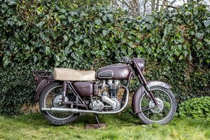 1957 ARIEL 500CC VH RED HUNTER (LOT 326)
