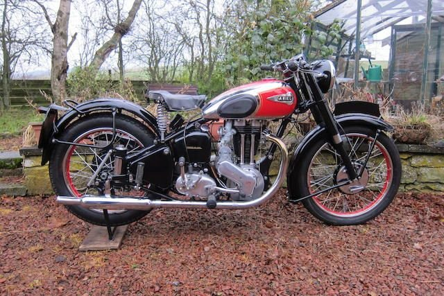 1951 ARIEL 497CC RED HUNTER MODEL VH (LOT 430) SOLD by Auction (picture 1 of 1)