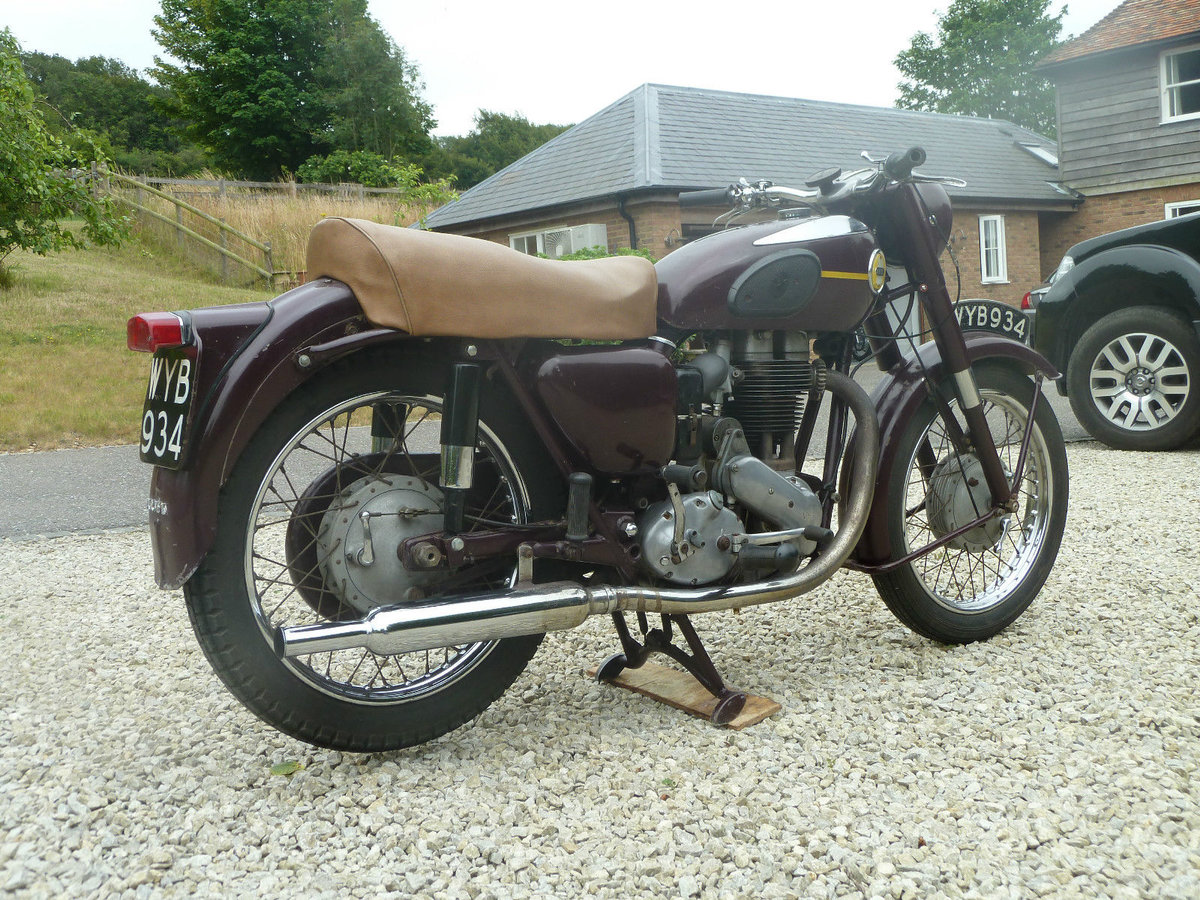 1956 Ariel VH500 Very Original . Ready to Ride For Sale (picture 2 of 6)