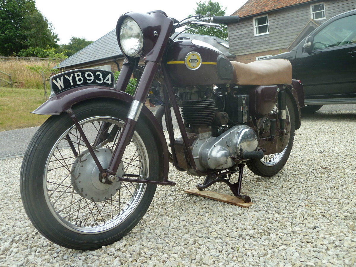 1956 Ariel VH500 Very Original . Ready to Ride For Sale (picture 5 of 6)