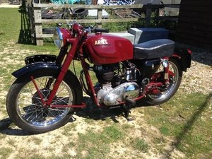 Picture of 1954 Ariel Red Hunter 500
