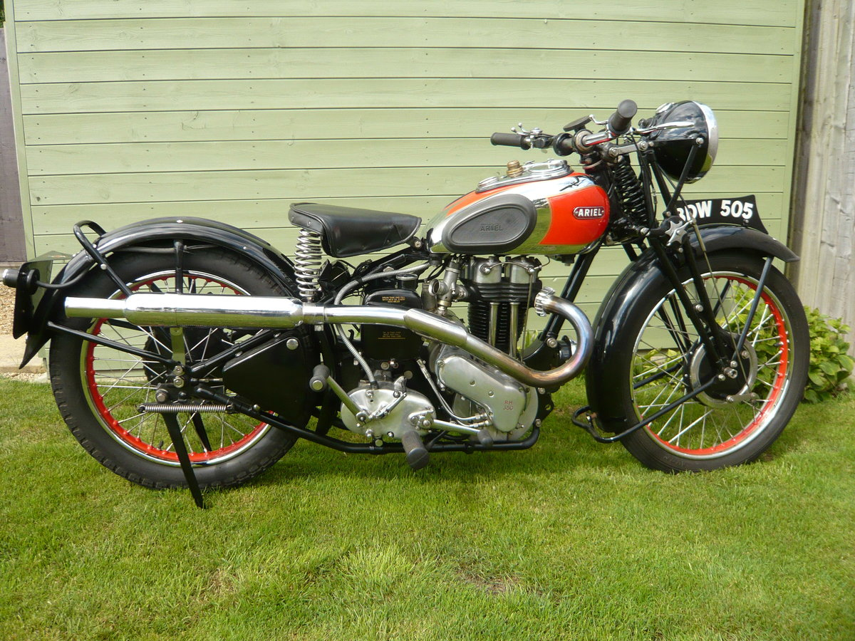 1938 Ariel NH350 Red Hunter  For Sale (picture 1 of 6)