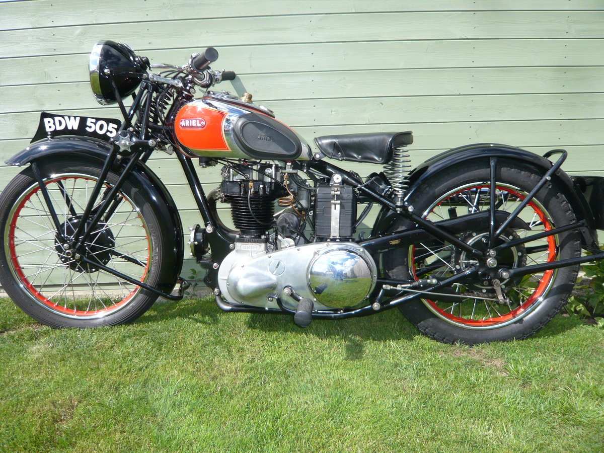 1938 Ariel NH350 Red Hunter  For Sale (picture 2 of 6)