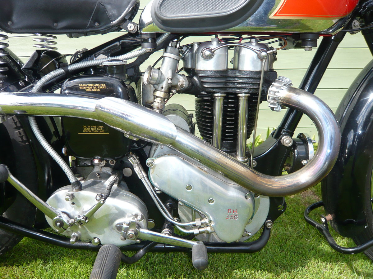1938 Ariel NH350 Red Hunter  For Sale (picture 3 of 6)
